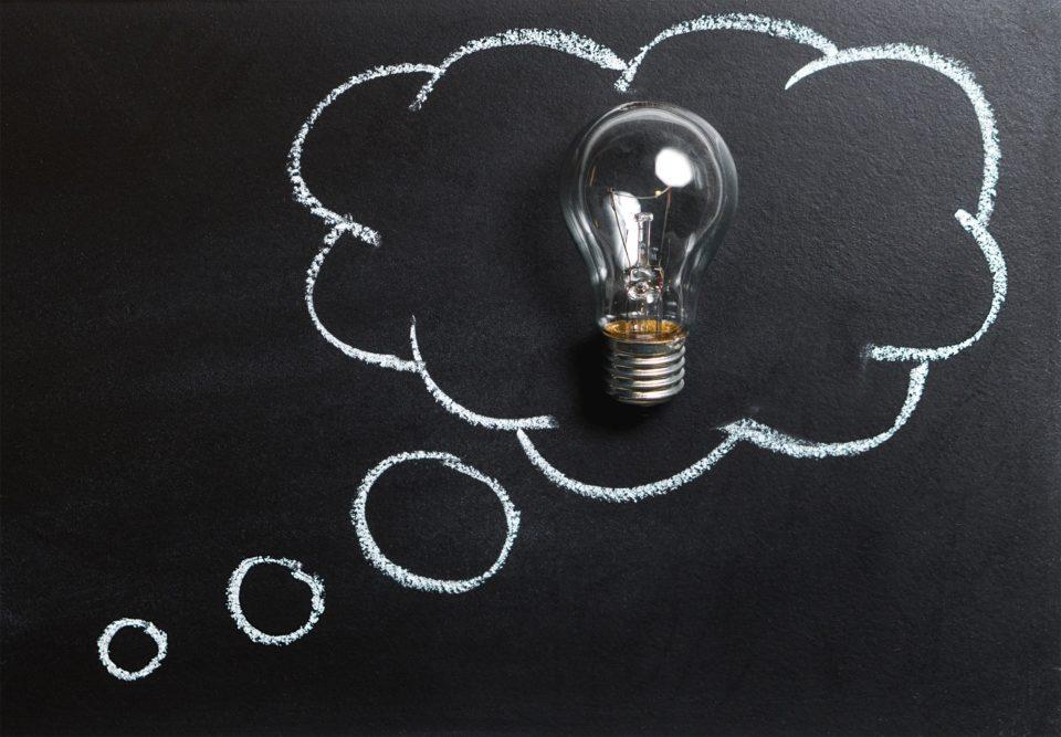 blackboard ideas board