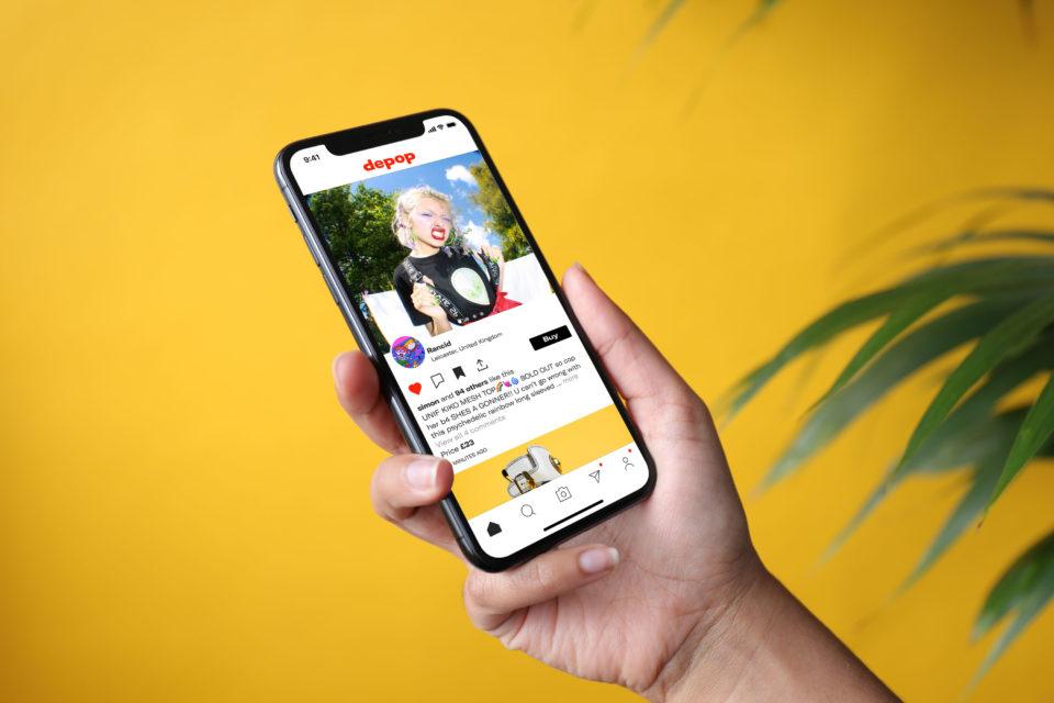 depop on mobile